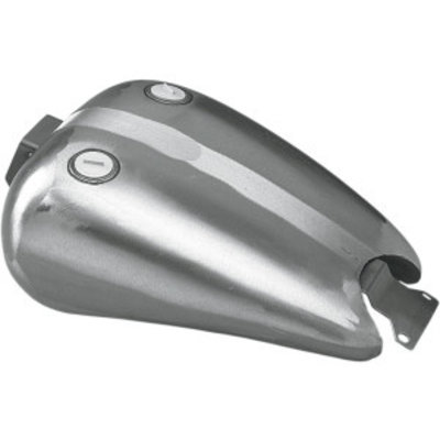Drag Specialties One-Piece extended gas tank dual cap