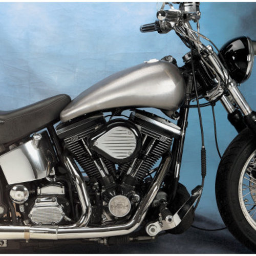 """Drag Specialties 2"""" Extended Two-Piece Flat-Side Tank"""