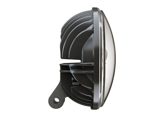 """J.W. Speaker 7"""" Ronde koplampen met voetstuk Model 8791 Chrome"""