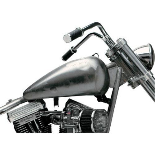 Drag Specialties 22,7 liter Fat bob flatside tank  FL/FX 66-84 Panhead 48-65