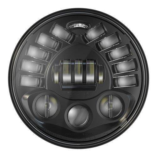 """J.W. Speaker 7"""" Ronde koplampen met voetstuk Model 8791 2 Zwart"""