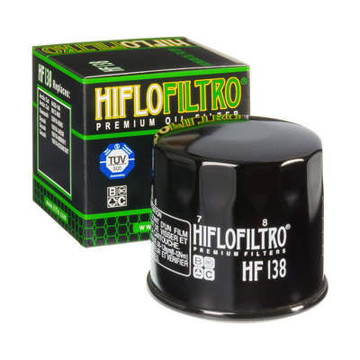 Hiflo HF138 Oil Filter Suzuki VS Intruder