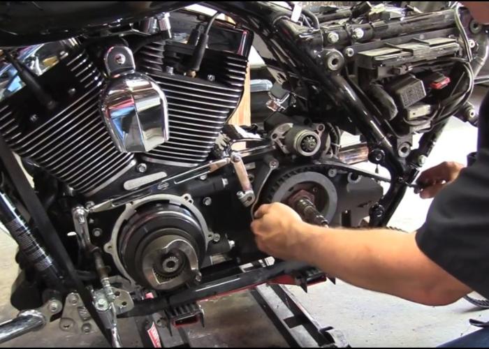 ContiTech Harley Aandrijfriem 136 Tands 1 1/8 INCH