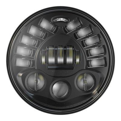 """J.W. Speaker 7"""" Sokkelbevestiging LED-koplamp model 8791 Zwart"""