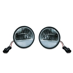 "4,5"" Phase 7 LED Passing Lamps black"