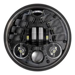 """Phare à LED adaptatif noir de 5,75"""" avec support, modèle 8690 2"""
