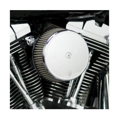 Arlen Ness Big Sucker Stage I Kit de filtre à air synthétique chromé EVO/BIGTWIN 93-99