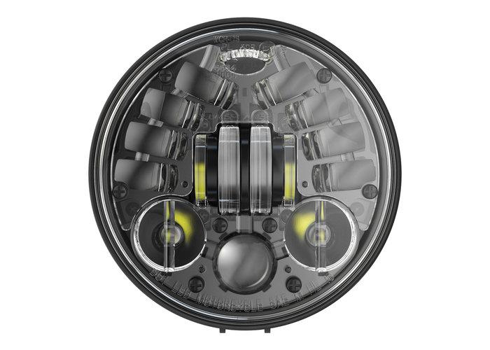 """J.W. Speaker 5,75"""" Ronde koplampen met voetstuk Model 8691 2 zwart"""
