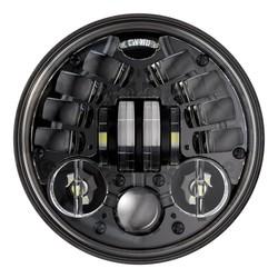 """5.75"""" Ronde koplamp Model 8690 zwart"""