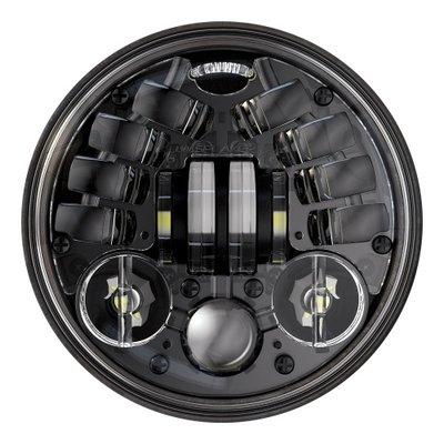 "J.W. Speaker Phare rond de 5,75"" noir modèle 8690"