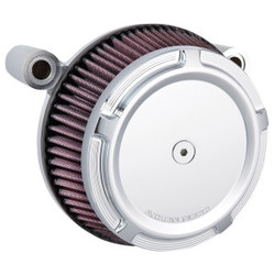 Big Sucker Stage I Air Filter Kit Beveled chrome  EVO/BIGTWIN 93-99