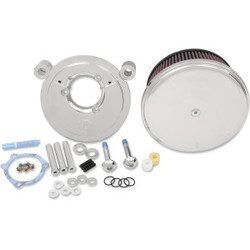 Big Sucker Stage II Air Filter Kit met stalen Cover  EVO/BIGTWIN 93-99