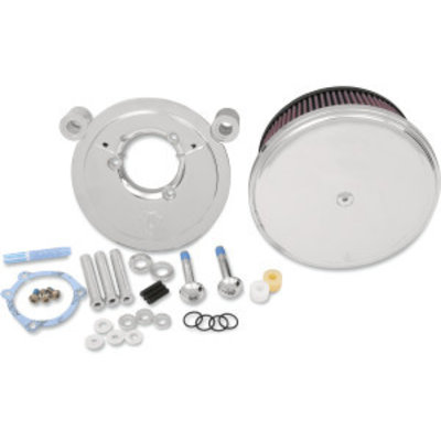 Arlen Ness Big Sucker Stage II Air Filter Kit with steel Cover  EVO/BIGTWIN 93-99