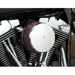 Big Sucker Stage I Air Filter Kit met Standaard Filter chroom EVO/BIGTWIN 93-99