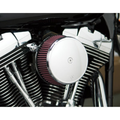 Arlen Ness Big Sucker Stage I Air Filter Kit with Standard Filter chrome EVO/BIGTWIN 93-99