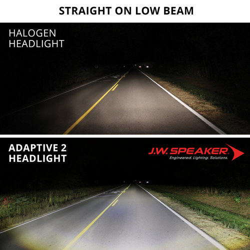 "J.W. Speaker 5.75"" LED Adaptive Headlights model 8690 2 zwart"