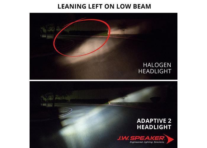 "J.W. Speaker 5.75"" LED Adaptive Headlights model 8690 2 chroom"
