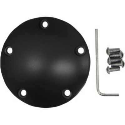 Drag Specialties Twin Cam 99-17 Point Cover  Black