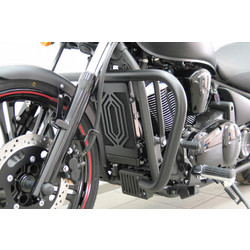 Crash bar, black, KAWASAKI VN 900 Custom
