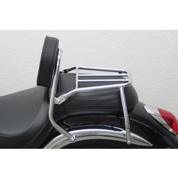 Driver Sissy Bar with backrest and luggage rack, Kawasaki VN 900 Classic 2006-
