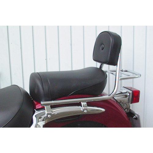Fehling Sissy bar with backrest and luggage rack, Suzuki VL 125 LC Intruder 99-07