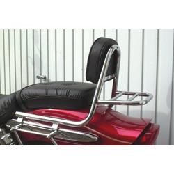 Sissy bar with backrest and luggage rack, Suzuki GZ 125 Marauder 98-01, GZ 250 Marauder 99-01