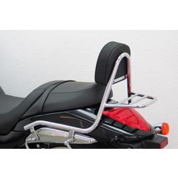 Sissy bar with backrest and luggage rack, Suzuki M 1800 R / R2 2006-