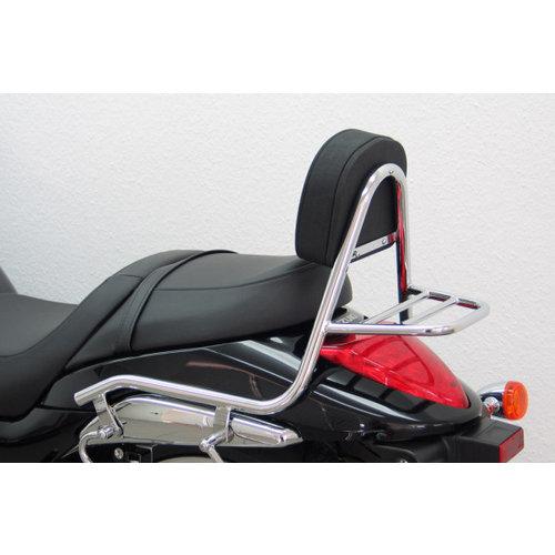 Fehling Sissy bar with backrest and luggage rack, Suzuki M 1800 R / R2 2006-
