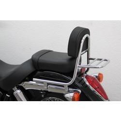 Sissybar met rugleuning en bagagerek, Honda VT 750 C4, CS (RC50) 2004-2007 en VT 750 C8 (RC50 / 08) 2008-2009 en VT 750 C10 (RC50 / 10) (ook ABS) 2010-