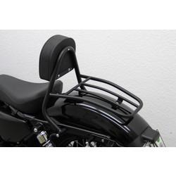 Bestuurders Sissy Bar black, H-D Sportster 48 (XL1200X) 2010 ->