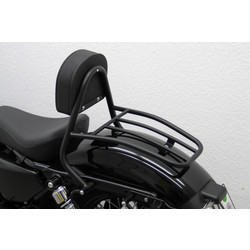 Drivers Sissy Bar black, HD Sportster 48 (XL1200X) 2010 ->