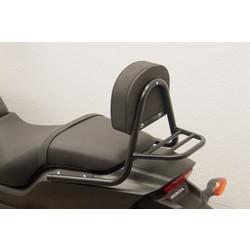 Sissy Bar mit Rückenlehne und Gepäckträger, schwarz, Honda CTX 700 N 2014-