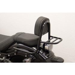 Sissybar mit Rückenlehne und Gepäckträger, schwarz, Yamaha XV 950 R 2014
