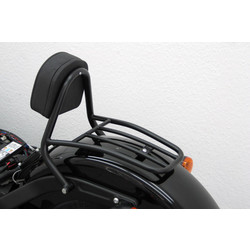 Driver Sissy Bar black, H-D Softail Blackline FXS 2011-, Softail Slim FLS 2012-