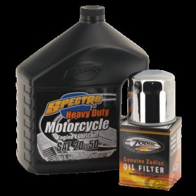 Spectro Oils Service Kit voor Evo Big Twin 1984 - 1999 & Sportster 1984 <