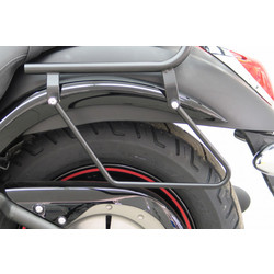 Saddlebag supports KAWASAKI VN 900 Classic 06-, black
