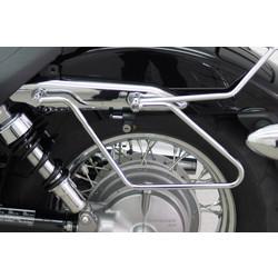 Saddlebag brackets for the Honda VT 750 C and VT 750 C Spirit