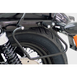 Saddlebag supports H-D Sportster Evo, black 04>