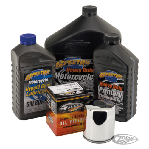 Spectro Oils Service Kit for Twin Cam 99-17