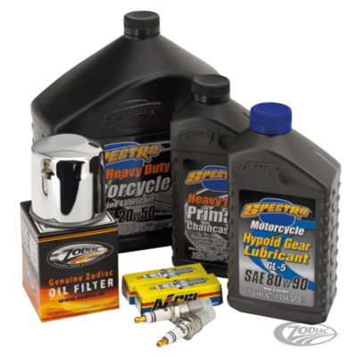 Spectro Oils Totale Service Kit voor Big Twin 84-99