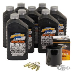 "Platinum ""3 into 1"" Total Service Kit für Milwaukee Eight 17-"