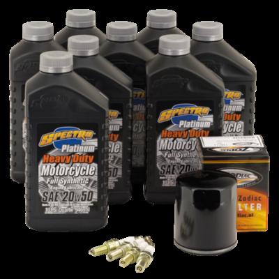 "Spectro Oils Platinum ""3 into 1"" Totale Service Kit voor Milwaukee Eight 17-"