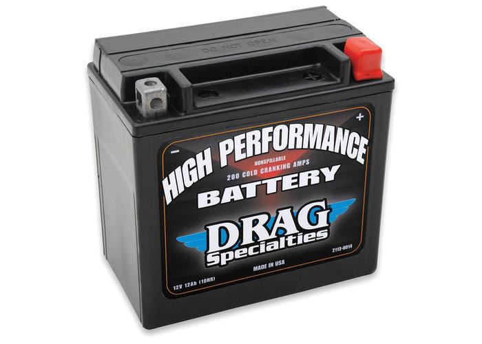 Drag Specialties 12 Volt High Performance Accu HD FLT / FLHT / FLHX / FLTR / FLHR