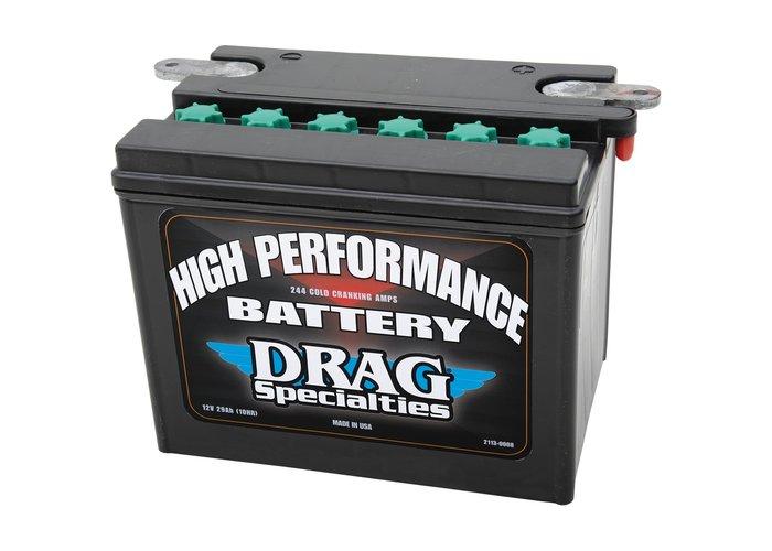 Drag Specialties 12 Volt High Performance Accu Softail FXD / FXDWG / XL / XG VRSCA VROD