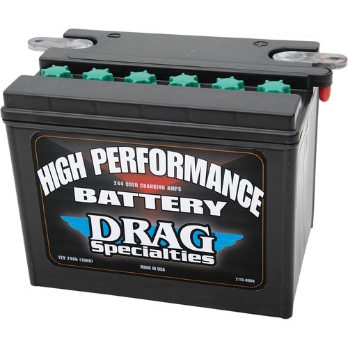 Drag Specialties 12 Volt Hochleistungs Batterie  04-19 XL / 15-19 XG 500/750