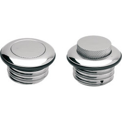 Pop-up vented Gas cap chrome H-D 82-95