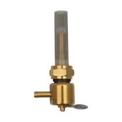 22mm High-Flow Benzinhahn Bronze (Winkel auswählen)