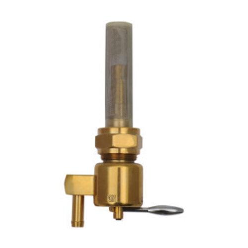 Drag Specialties 22mm High-Flow Benzinhahn Bronze (Winkel auswählen)