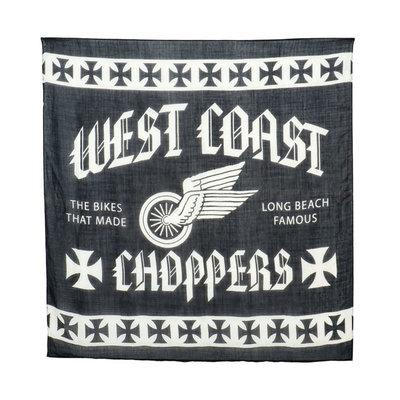 West Coast Choppers Wings Multi-Purpose Sjaal Zwart