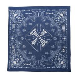 Handcrafted Blauwe Bandana